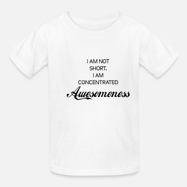 Concentric concentrated AWESOMENESS - Kids' T-Shirt