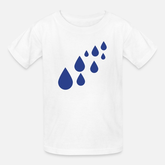Water T-Shirts - Water - Kids' T-Shirt white