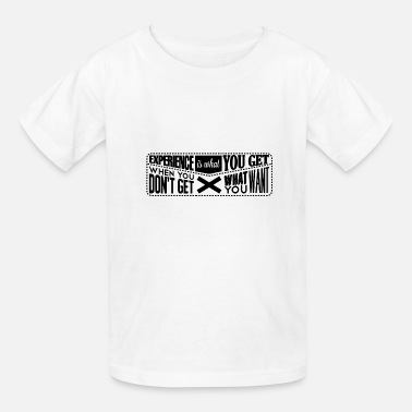 Experience Message experience - Kids' T-Shirt