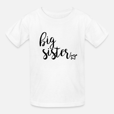 Pregnancy BIG SISTER FINALLY Pregnancy Baby Announcement - Kids' T-Shirt