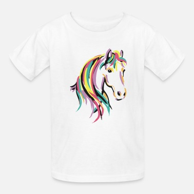 Horse Rainbow Horse 1 - Kids' T-Shirt