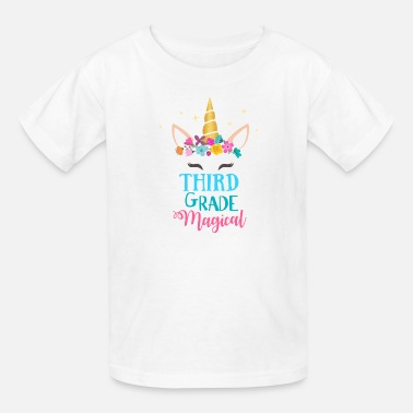 Grade First Grade Magical - Unicorn - Kids' T-Shirt