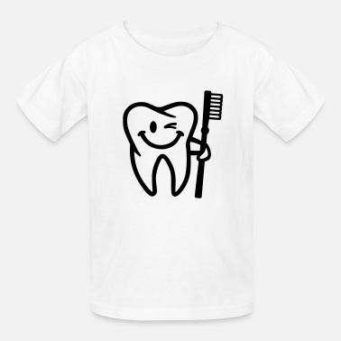 Tooth Tooth - Kids' T-Shirt