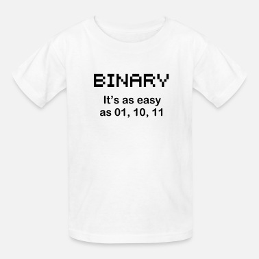 Binary BINARY - Kids' T-Shirt