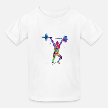 Weightlifting Weightlifting,Weightlifter - Kids' T-Shirt