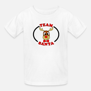 Reindeer team santa reindeer male - Kids' T-Shirt