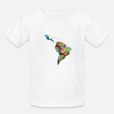 Latin America Latin America map - Kids' T-Shirt