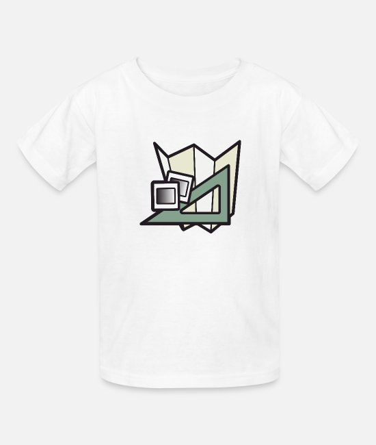 Set T-Shirts - Set Square Colour - Kids' T-Shirt white