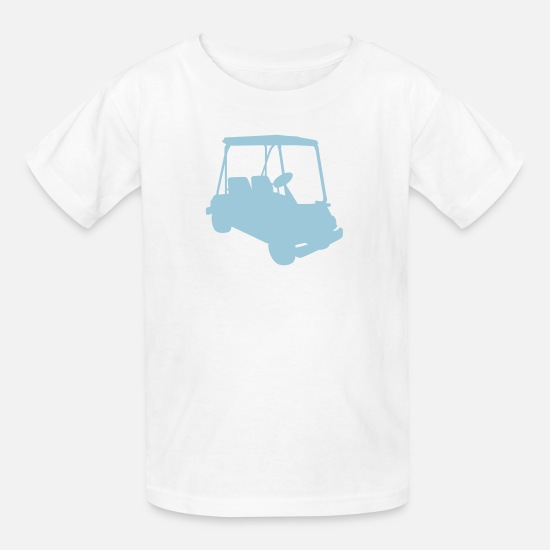 ef69c06e Golf T-Shirts - Golf cart - Kids' T-Shirt white