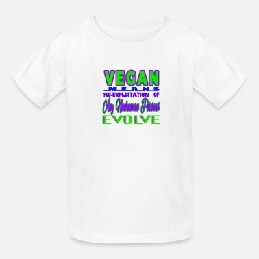 Exploit NO EXPLOITATION - Kids' T-Shirt