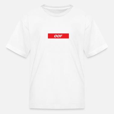 080a2aee66979 Roblox Supreme Oof Kids' Premium T-Shirt - white