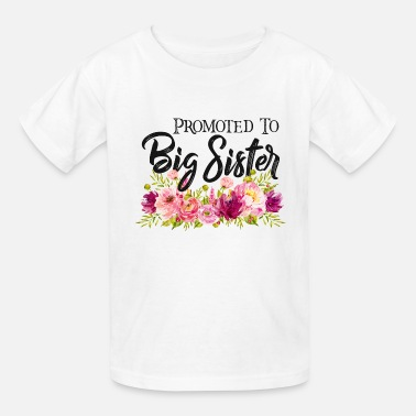 Big Sis promoted to big ssister shirt,sis shirt,big sis - Kids' T-Shirt