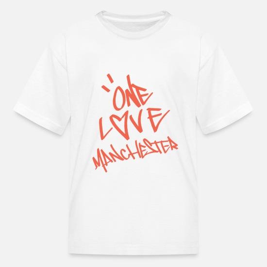25c0e7f23d80 one love manchester Kids' T-Shirt | Spreadshirt