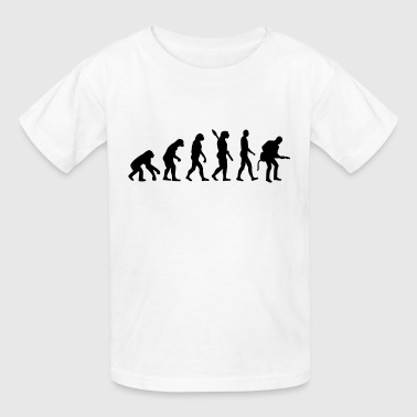 Evolution Rock musician - Kids' T-Shirt