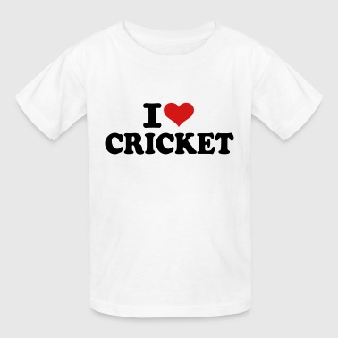 I love Cricket - Kids' T-Shirt