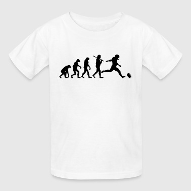 NFL Football Evolution - Kids' T-Shirt