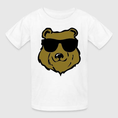 cool bear - Kids' T-Shirt