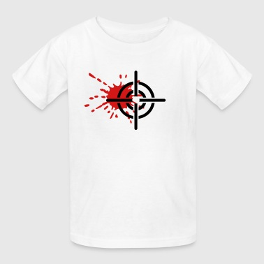 Crosshairs blood - Kids' T-Shirt