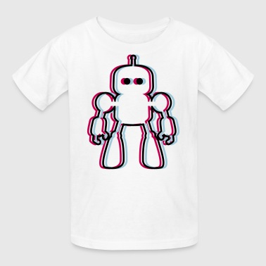 I Robot 3D - Kids' T-Shirt
