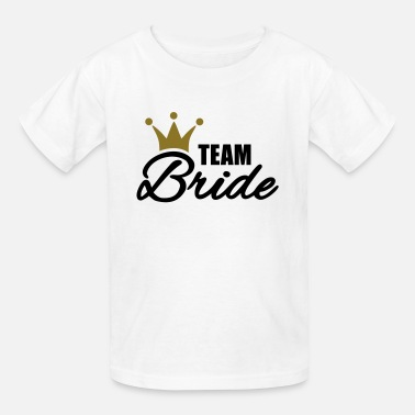 Bachelorette Party Team Bride - Kids' T-Shirt