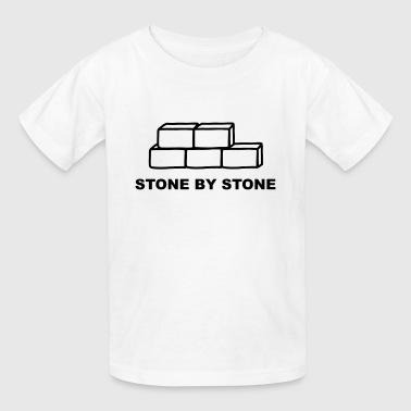 Stone by Stone - Kids' T-Shirt