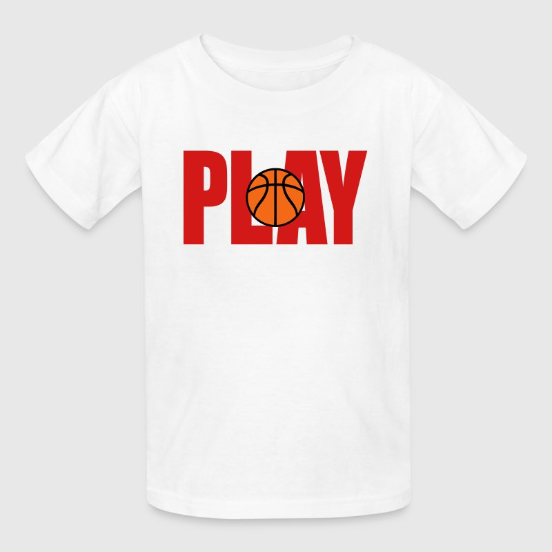 Play Basketball - Kids' T-Shirt