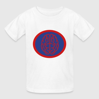 Super, Hero, Heroine, Super Brain, Brainiac - Kids' T-Shirt