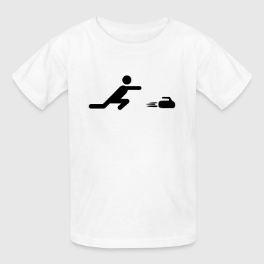 Curling - Kids' T-Shirt