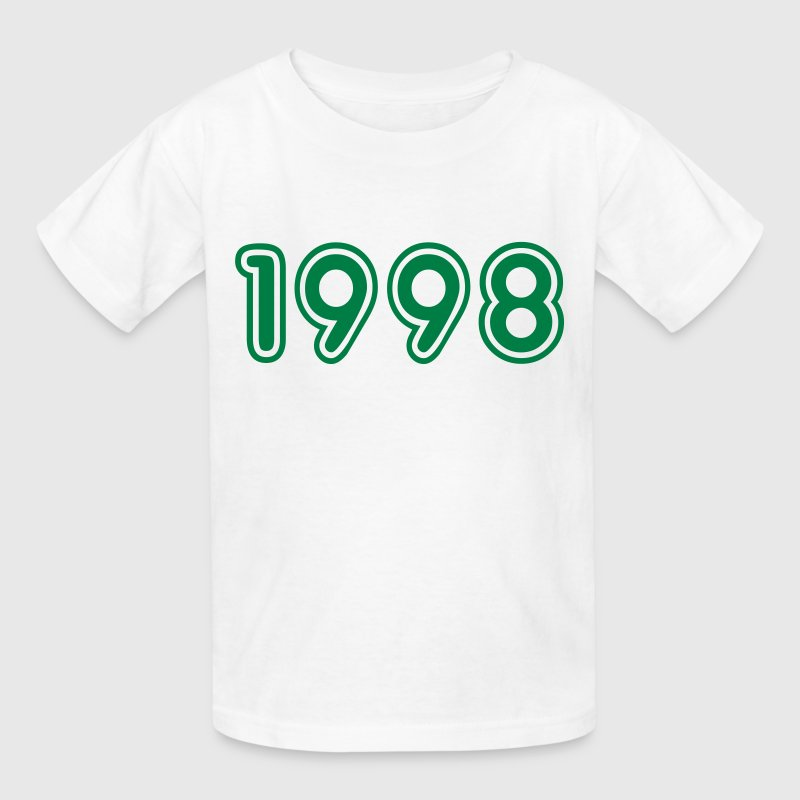 1998, Numbers, Year, Year Of Birth - Kids' T-Shirt
