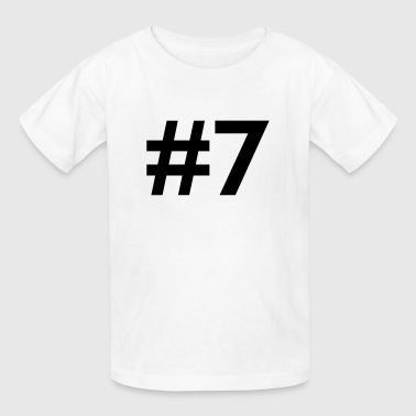 #7 (number seven) - Kids' T-Shirt