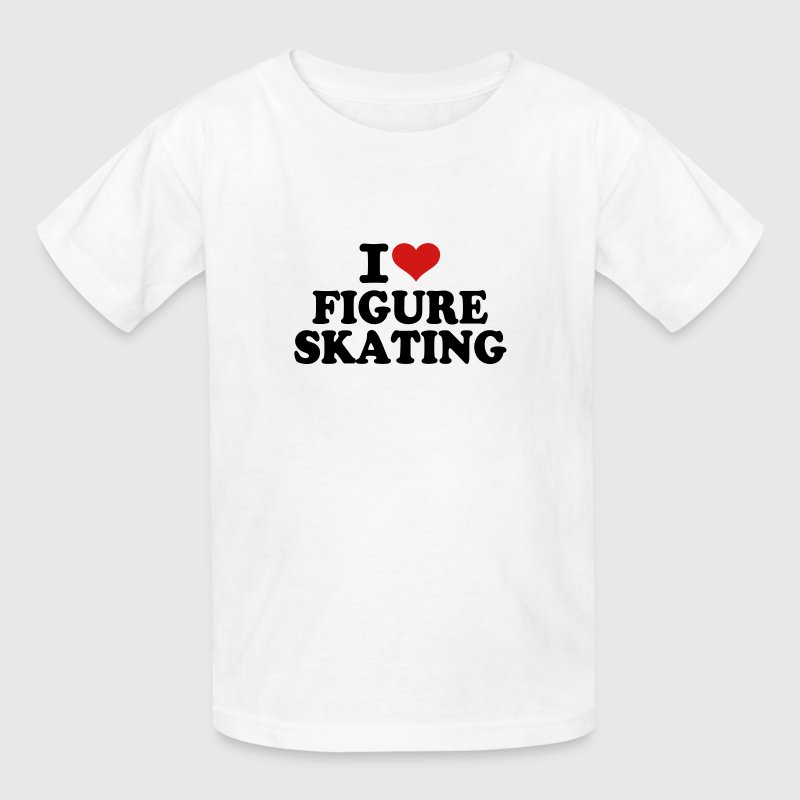 I love Figure Skating - Kids' T-Shirt