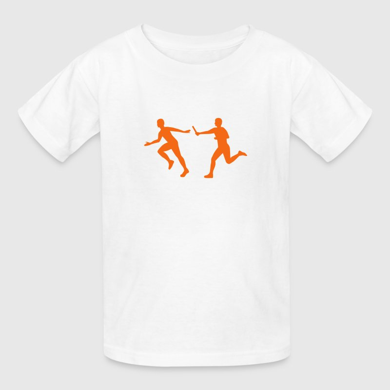 Relay race - Kids' T-Shirt