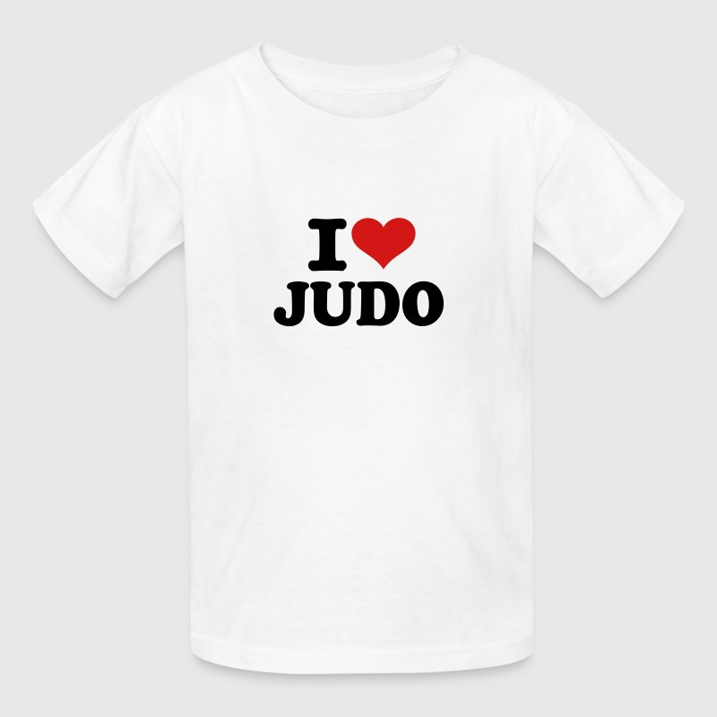 I love Judo - Kids' T-Shirt