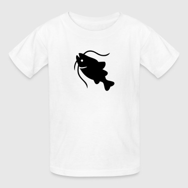 Catfish Silhouette - Kids' T-Shirt