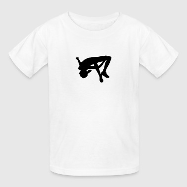 Freerunning Backflip SIlhouette - Kids' T-Shirt