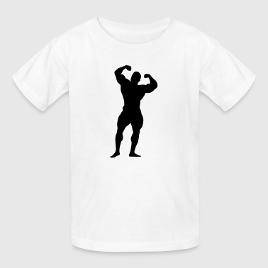body building - Kids' T-Shirt