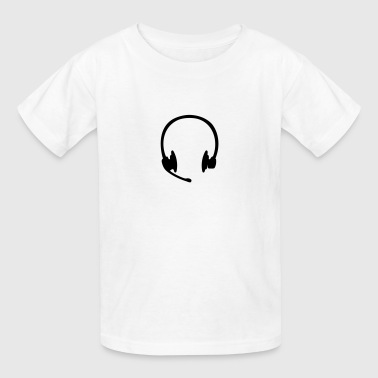 Headset headphones - Kids' T-Shirt