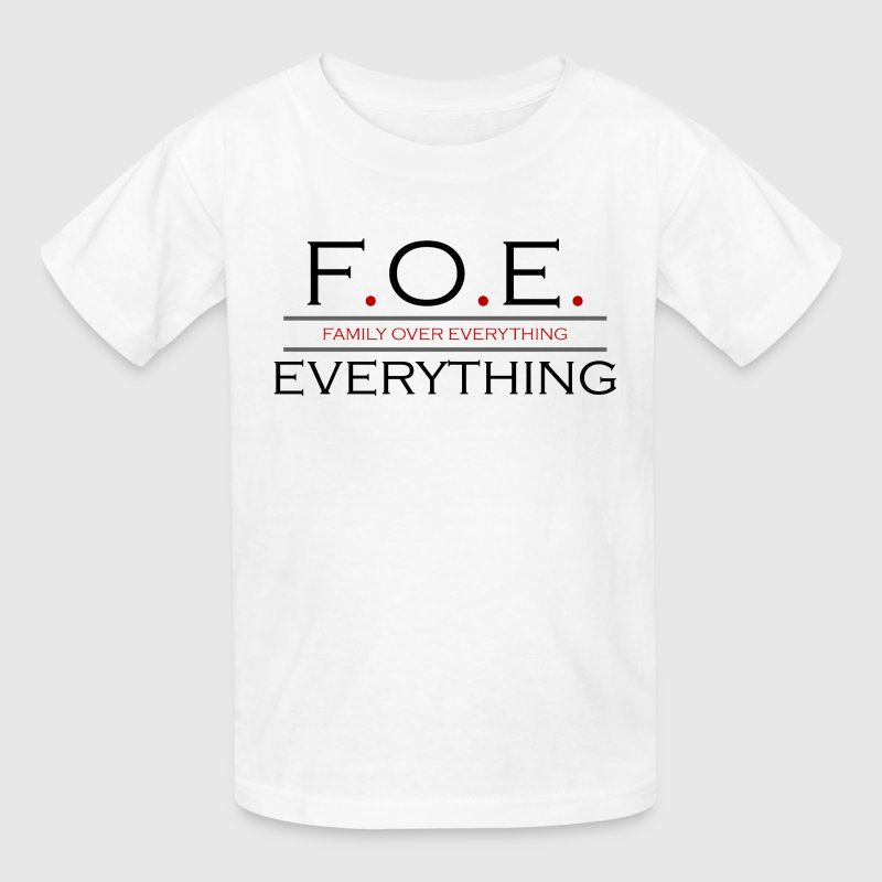 Family Over Everything - Kids' T-Shirt