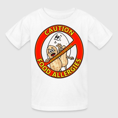 Food Allergy Alert Design - Kids' T-Shirt