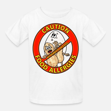 Food Allergy Food Allergy Alert Design - Kids' T-Shirt