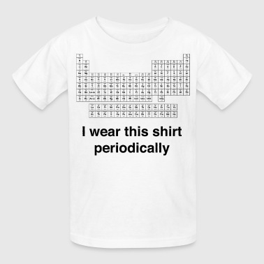 Periodic Table Periodic Wear - Kids' T-Shirt