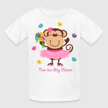 Monkey Big Sister - Kids' T-Shirt