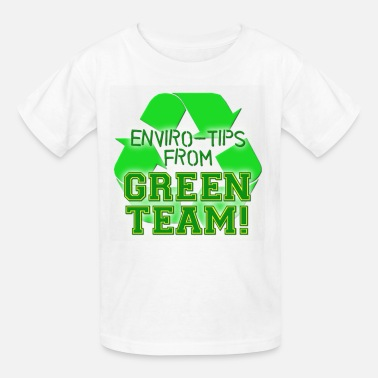 Green Team Green Team Enviro Tips - Kids' T-Shirt