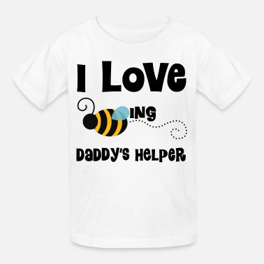 Kids Daddy Daddy's Helper Kids Cute - Kids' T-Shirt