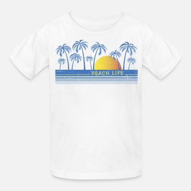 Summer Beach Life 90 - Kids' T-Shirt