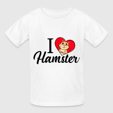 I Love Hamster - Kids' T-Shirt