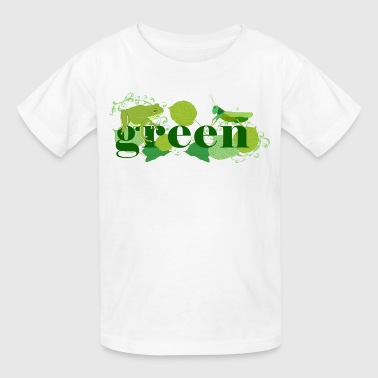 Canadian Green Green - Kids' T-Shirt