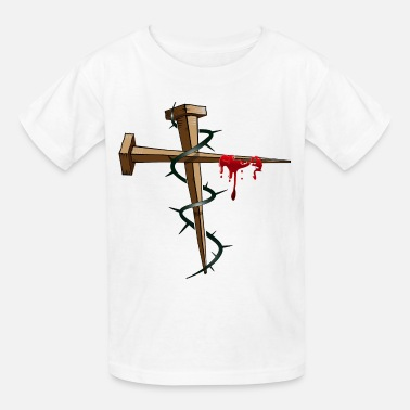 Thorns Nail Cross - Kids' T-Shirt