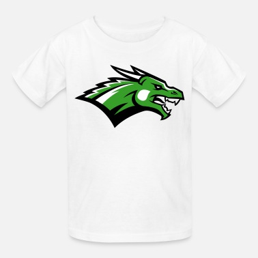 Dragon Artwork Angry Dragon Logo - Kids' T-Shirt