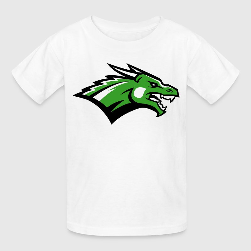Angry Dragon Logo - Kids' T-Shirt